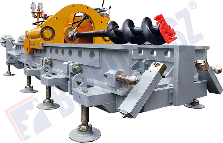 WPS-100 - wiertnica pozioma sterowana - max średnica wiercenia Ø1100 na długość max 60 m z komory prostokątnej